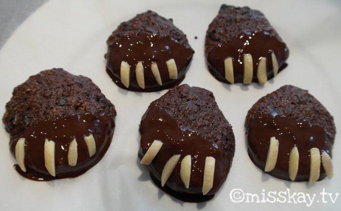Saftige Paleo Schokoladige Bärentatzen