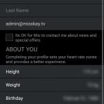 Mio GO App