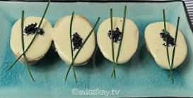 Marinierte Eier mit Wasabi-Mayonnaise