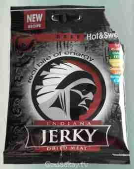 Indiana Jerky Beef Hot Sweet