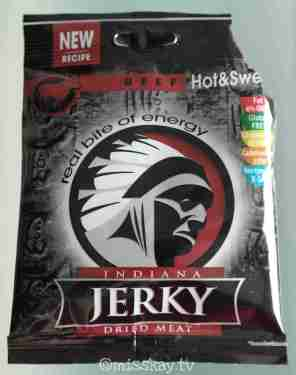 Indiana Jerky Beef Hot Sweet