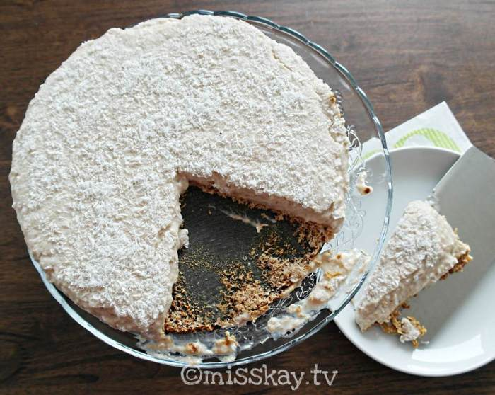 Coconut Cream Pie (Paleo AIP)