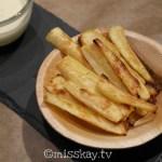 Pastinaken Pommes mit Knoblauch Dip (Vegan/Paleo AIP/Low Carb)