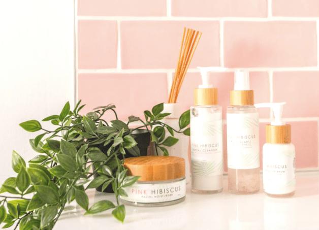 Pink Hibiscus Nurture Your Skin Ritual Set