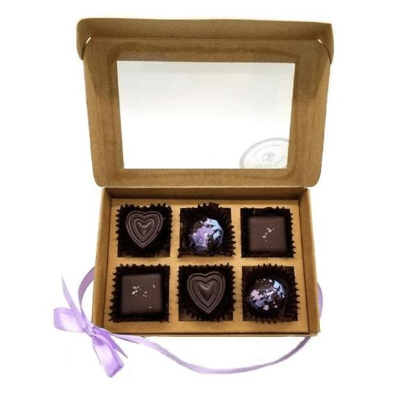 Pure Lovin Chocolate 6 Pc Assorted Box