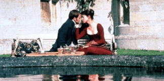scene from Mansfield Park 1999 showing Fanny Price and Edmund Bertram