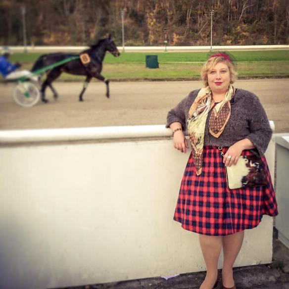 Miss Kittenheel vintage plus size style races