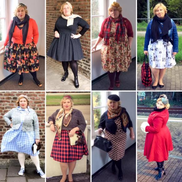 Miss Kittenheel vintage plussize style November