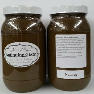 Antiquing Glaze - Nutmeg