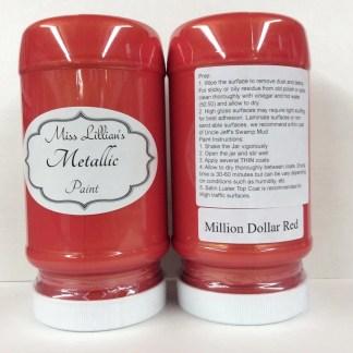 Metallic Paint - Million Dollar Red