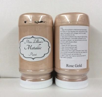 Metallic Paint - Rose Gold