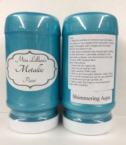 Metallic Paint - Shimmering Aqua