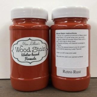 Wood Stain - Retro Rust