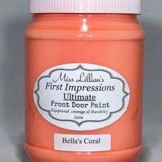 Front Door Paint - Bella's Coral