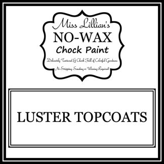Luster Topcoats Cover