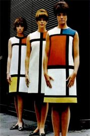 Robes Mondrian by Yves Saint Laurent