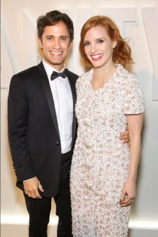 Gael García Bernal and Jessica Chastain