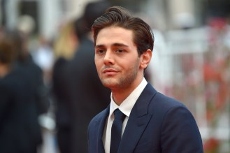 "Canadian director Xavier Dolan for the movie ""Juste la fin du monde"""