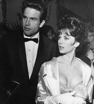 Natalie Wood and Warren Beatty 1962