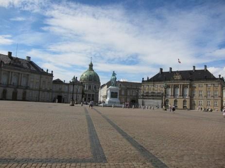 Royal Palace of Denmark in CopenhagenColorful h