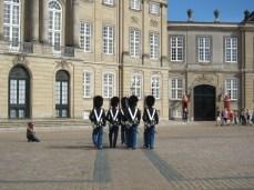 Royal Palace of Denmark in Copenhagen