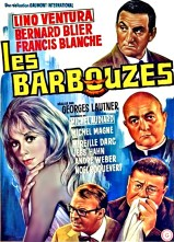 """""""Les barbouzes"""" directed by Georges Lautner in 1964,"""