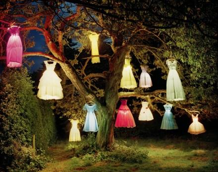 The Dress / Lamp Tree Northumberland, UK L'Uomo Vogue April 2004
