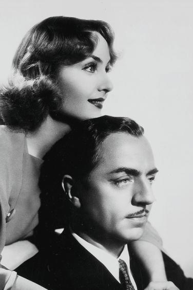 Carole Lombard and William Powell, My Man Godfrey (1936)