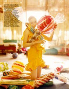 """Imaginary Fantastic Bizarre"": Lily Cole by Tim Walker • Vogue Italia July 2005"