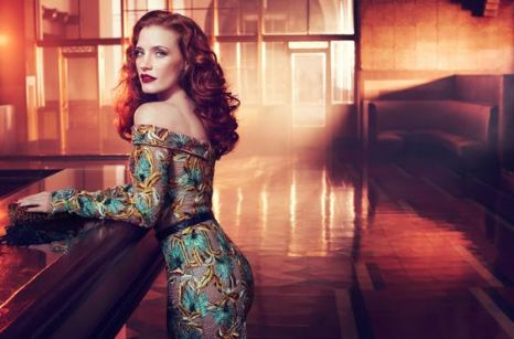 Jessica Chastain for Vogue Italia