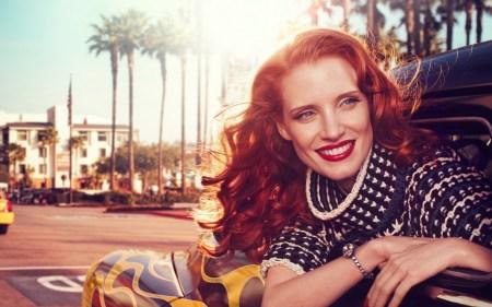 Jessica Chastain for Vogue Italia