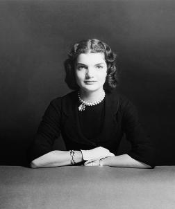 Jacqueline Bouvier (future Jacqueline Kennedy)