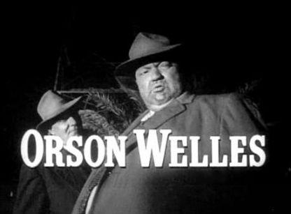 Orson Welles as Police captain Hank Quinlan