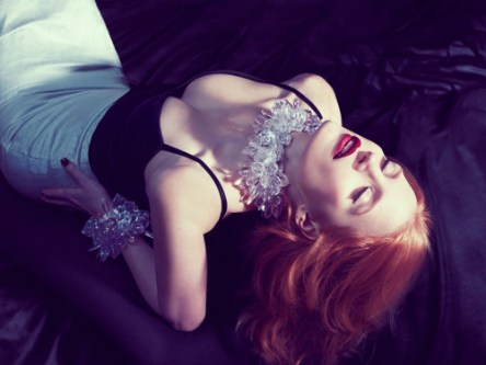 Jessica Chastain by Micaela Rossato for InStyle UK 2013
