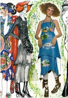Grace Coddington in Pablo and Delia, 1970