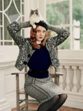Karen Elson by Tim Walker for Vogue US September 2005