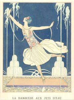 La danseuse aux jets d'eau