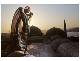 Moyra Swan in Turkey for Vogue UK 1971