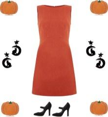 Orange and black for Halloween