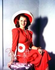 Rita Hayworth in color