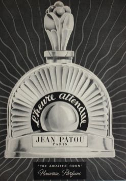 vintage-ad-for-jean-patou-perfume-lheure-attendue-1949