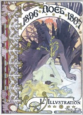 Alfons Maria Mucha's Art Nouveau decorative paintings, advertisements and illustrations [dvdbash]