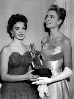 Natalie Wood and Grace Kelly