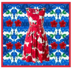 red-and-blue-flowers