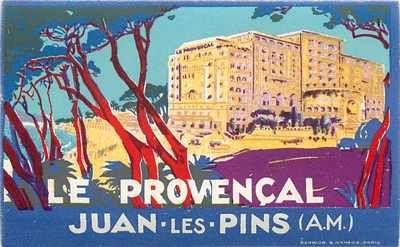 Hotel Le Provencal ~JUAN les PINS FRANCE
