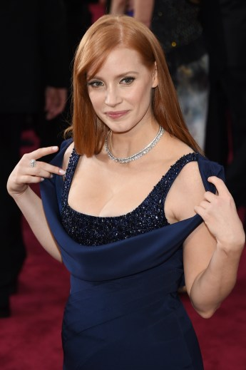 Jessica Chastain wearing Givenchy Couture in 2015
