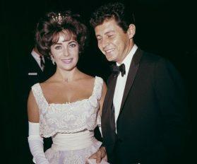 Elizabeth Taylor and Eddie Fisher
