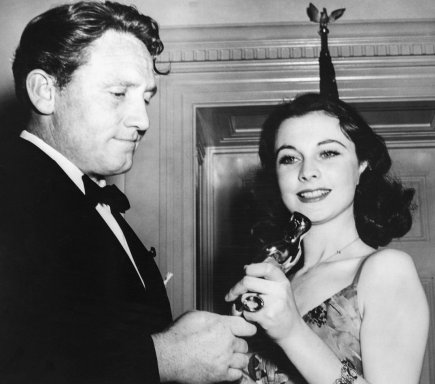 Spencer Tracy and Vivien Leigh