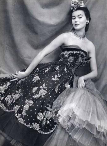 Sylvie Hirsch in Christian DIOR 1950