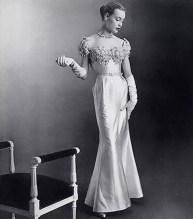 Jean Patou evening dress 1951